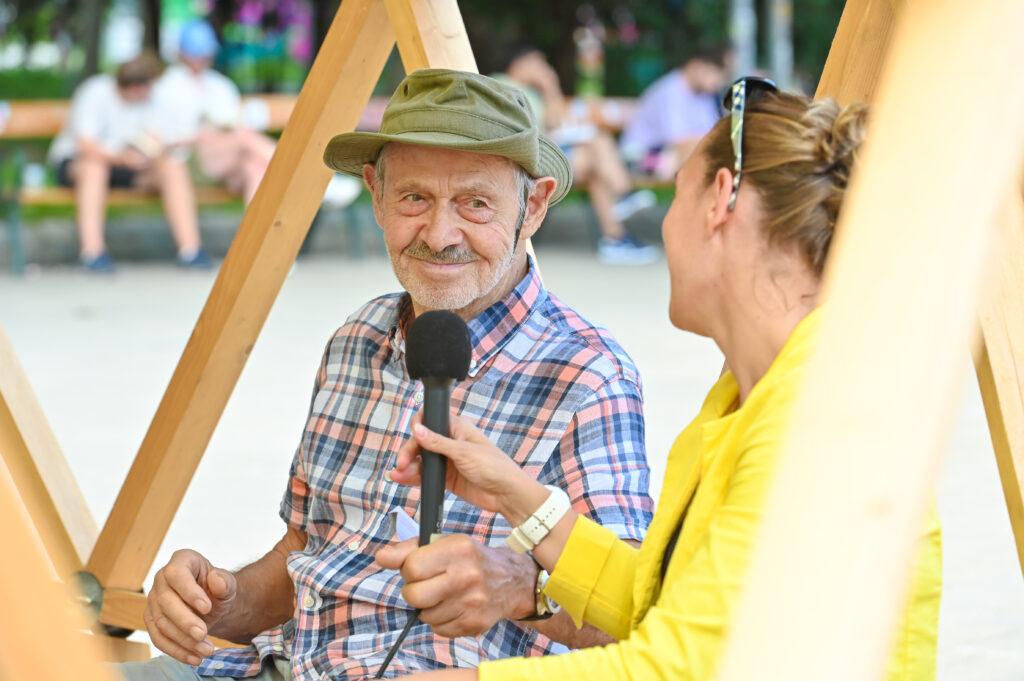 Zukunftsrat Demokratie unter der Kuppel auf dem Karlsplatz